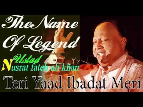 Teri Yaad Ibadat Meri - Nusrat Fateh Ali Khan