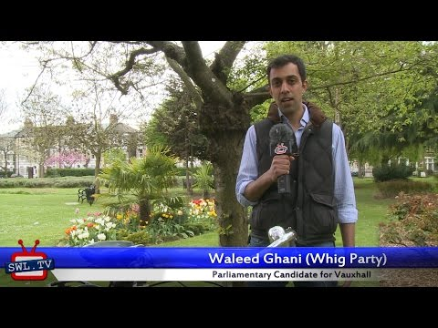 Waleed Ghani's 30 second election pitch