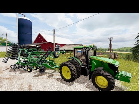FARMING SIMULATOR 2017 | STARTING A NEW IOWA/MIDWEST MAP WITH 20+ NEW MODS | EP #1