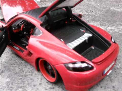 Porsche Cayman S Eurotuner 1:18.wmv