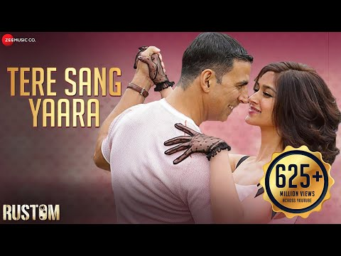 Download Tere Sang Yaara - Rustom | Akshay Kumar & Ileana D'cruz |  Arko Ft. Atif Aslam | Manoj Muntashir HD Mp4 3GP Video and MP3