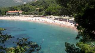 Milocer Montenegro  city photo : Montenegro (Crna Gora), Milocer, King beach (Kraljeva plaza)