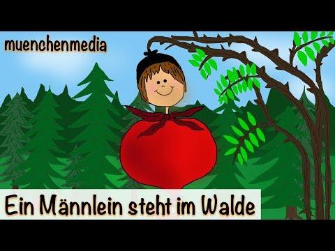 Kinderlieder deutsch - Ein Männlein steht im Walde - Kinderlieder zum Mitsingen