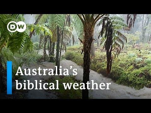 Video - Αυστραλία: Μετά τις πυρκαγιές η αμμοθύελλα, οι βροχές και οι χαλαζοπτώσεις