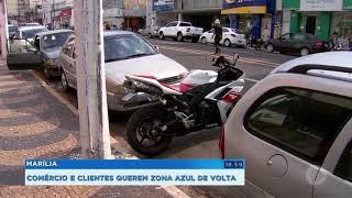Justiça suspende concorrência de zona azul em Marília