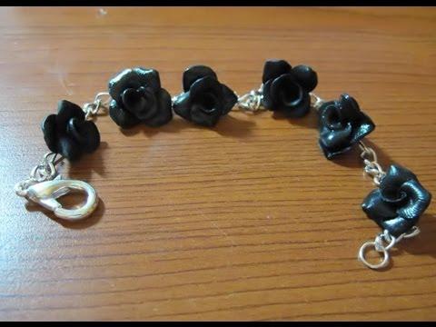 DIY bijoux: montare un bracciale con ciondoli interni alla catena (non pendenti)