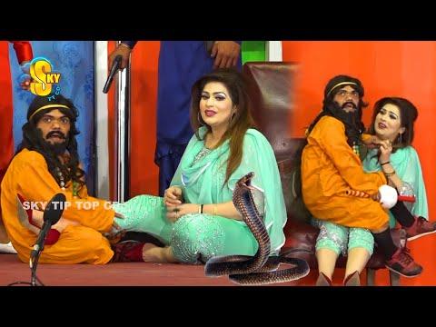 Vicky Kodu and Saira Mehar | Nida Choudhry | New Stage Drama 2020 | Love Story | Comedy Clip 2020
