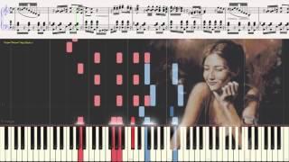 Брызги шампанского - Оскар Строк (Ноты и Видеоурок для фортепиано) (piano cover)