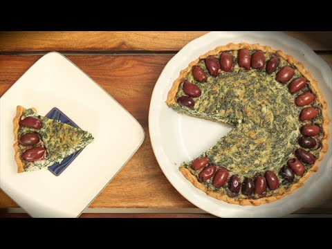 Cheese And Spinach Pie | Easy Pie Recipe | Divine Taste With Anushruti