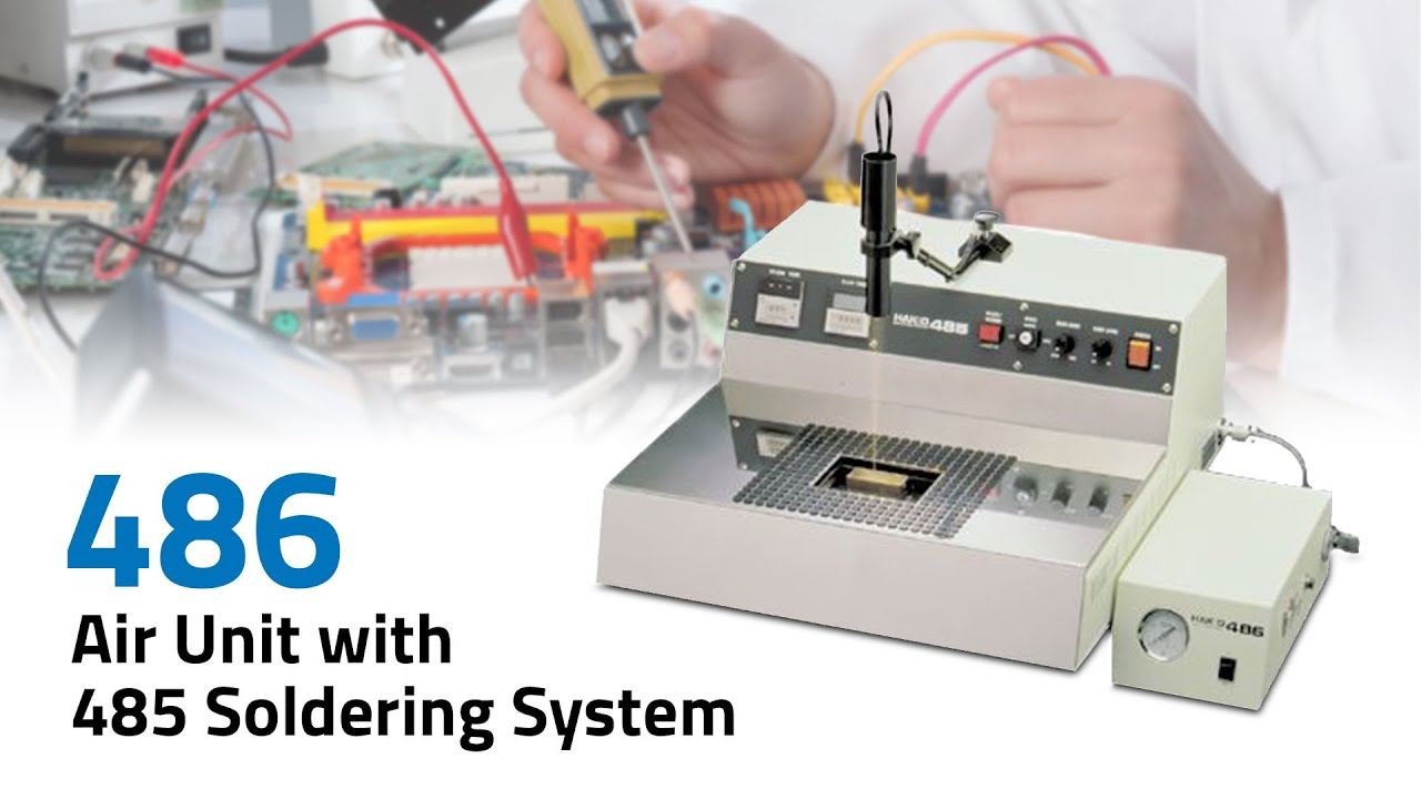 486 Air Unit for 485 Soldering System