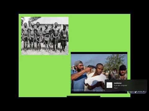 L'immigration du continent Noire, le néo colonialisme, et le retour de l'esclavage et le nettoyage r