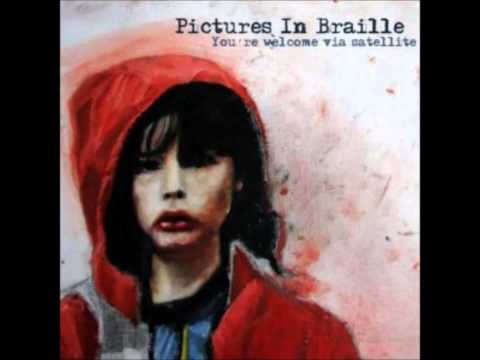 Pictures in Braille -  You're welcome via satellite