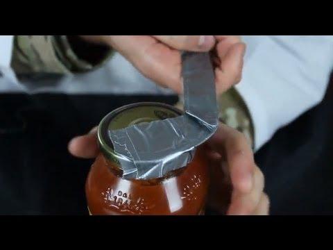 玻璃罐頭打不開?一捲膠帶就搞定它