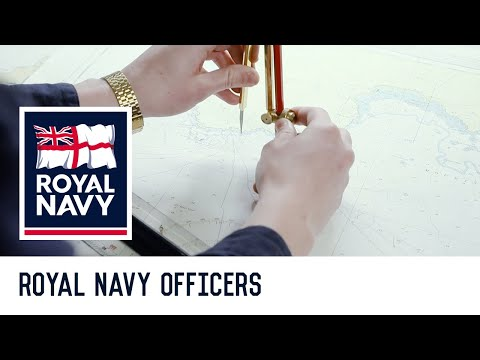 Royal Navy Officers: Training
