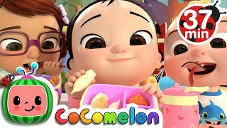 Video The Lunch Song + More Nursery Rhymes & Kids Songs - CoCoMelon MP3, 3GP, MP4, WEBM, AVI, FLV Juli 2019
