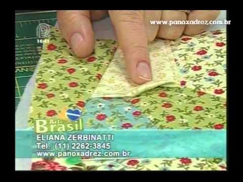 Tia Lili na TV: Bolsinha Vitoriana com técnica