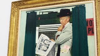 Artists Born This Month: Norman Rockwell