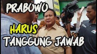 Video Sudah Saatnya Prabowo Mempertanggungjawabkan Semua Perbuatannya MP3, 3GP, MP4, WEBM, AVI, FLV Mei 2019