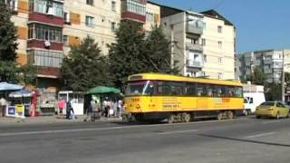 Botosani Romania  City new picture : BOTOSANI ROMANIA SEPTEMBER 2005 TRAMS