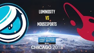 Luminosity vs mousesports - IEM Chicago 2018 - map2 - de_mirage [MintGod]