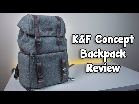 K&F Concept Waterproof Multi function DSLR Camera Backpack - Review