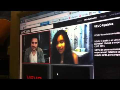 Yo hablando con Juanes en el Vevo Ask:Reply