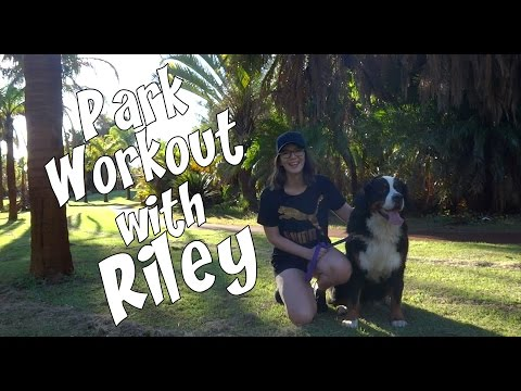 Who Let the Dog Out | Park Workout with the Puppy (видео)