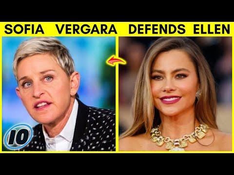 Sofia Vergara Defends Ellen Degeneres