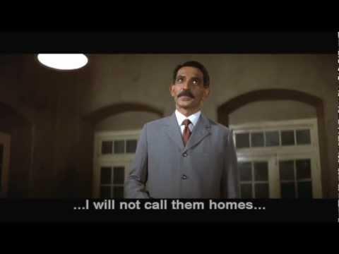 Gandhi (1982): Protest speech