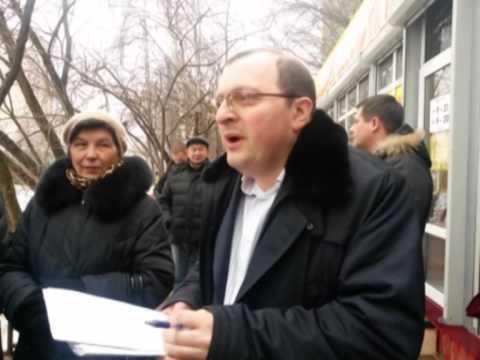 Страховские ларьки 13.02.2014 (видео)