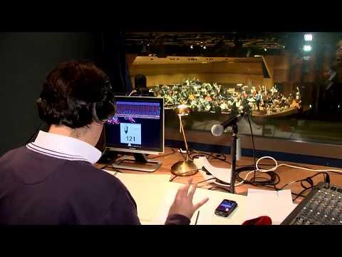 """Enregistrement d'""""Abstract"""" pour violoncelle et orchestre par l'OPMC - avec Bruno Mantovani"""