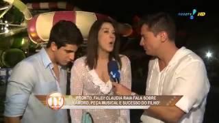 'Ele é gostoso': Claudia Raia fala com Leo Dias sobre o sucesso do filho Enzo com a mulherada.