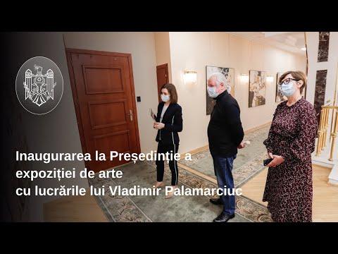 Președinția Republicii Moldova va găzdui o expoziție permanentă de artă. Primul artist găzduit este reputatul pictor Vladimir Palamarciuc