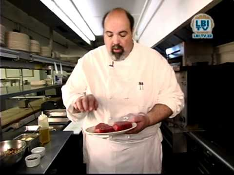 Bistro 14 | Rich Vaughan Prepares Grilled Tuna | Beyond The Beach July 2011