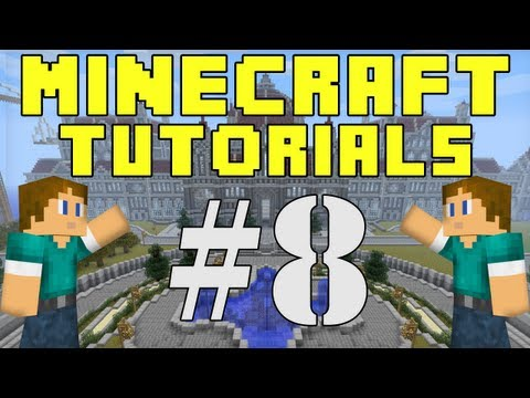 Minecraft Tutorials E08: Preparing For The Nether, Plus Super Creepers!
