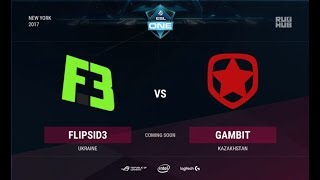 Flipsid3 vs Gambit, game 3