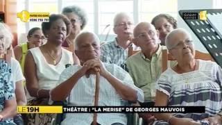 LECTURE À L'HÔPITAL AVEC GEORGES MAUVOIS / MARTINIQUE 1ÈRE