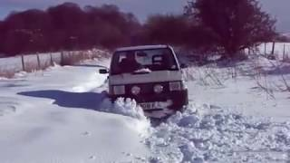 Fiat Panda 4x4 Snow 2009