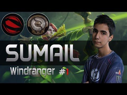 EG Sumail plays Windranger [15 Kills vs Team MvP] Dota 2 [TI5 GROUP]