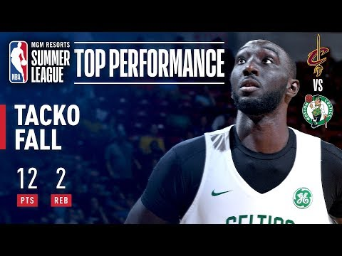 Video: Tacko Fall Scores 12 Points (5-5 FG) In Victory Over Cavs | July 8, 2019