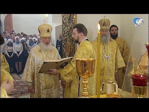 Новгородскую область посетил Патриарх Московский и Всея Руси Кирилл