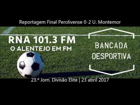 Reportagem Final - Perolivense Vs Grupo União Sport