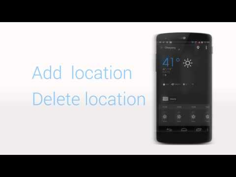 Video of Weather Widget - EZ Weather HD