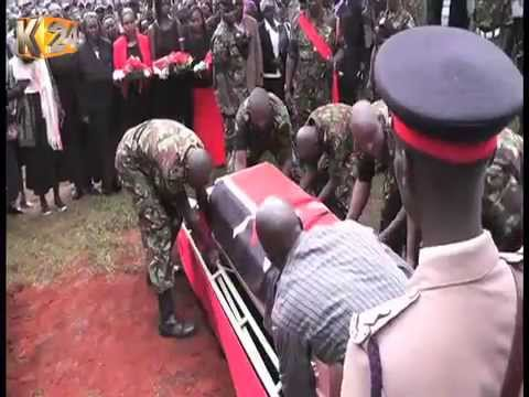 KDF soldier killed during Lamu attack laid to rest in Kericho county