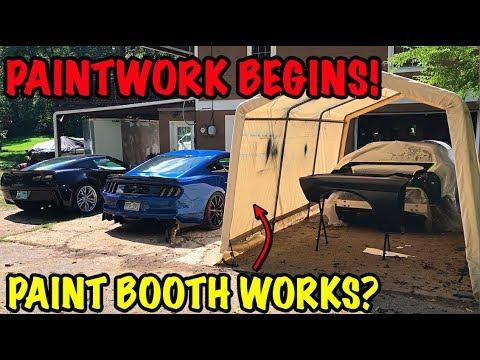 Rebuilding A Wrecked 2017 Dodge Hellcat Part 11