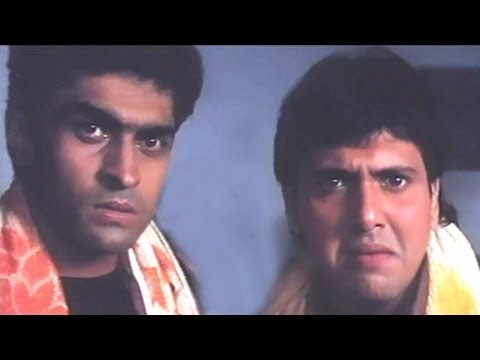 Govinda, Mohnish Bahl - Shola Aur Shabnam Action Scene - 9/20