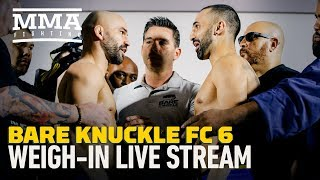 Bare Knuckle FC 6: Malignaggi vs. Lobov Weigh-In Video - MMA Fighting by MMA Fighting