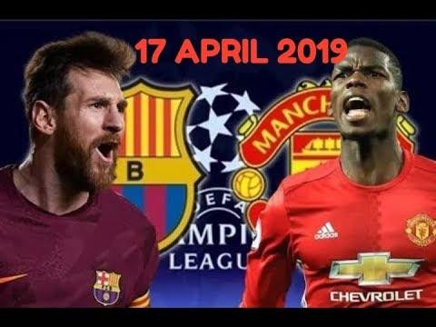 BARCELONA VS MANCHESTER UNITED || 3-0 , HIGHLIGHT LIGA CHAMPIONS || RABU, 17 APRIL 2019