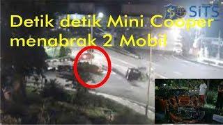 Video Detik Detik kecelakaan Mini Cooper di taman pelangi jl a yani depan Dolog Surabaya 23 Desember 2017 MP3, 3GP, MP4, WEBM, AVI, FLV Februari 2018