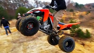 Video Fail Crash Yamaha Raptor - ATV quad compilation 2015 #2 MP3, 3GP, MP4, WEBM, AVI, FLV Oktober 2017